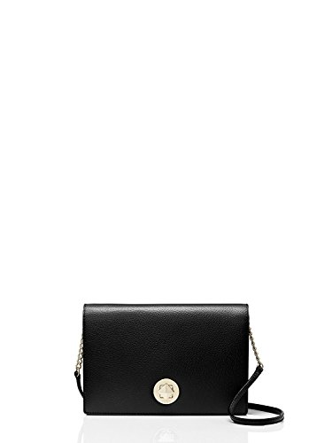 Grand Spade Crossbody Street Leather Black Kate Calico RvwFFq