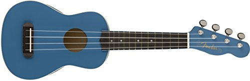 Fender Venice Soprano Ukulele-Lake Placid Blue, (0971610002) by Fender