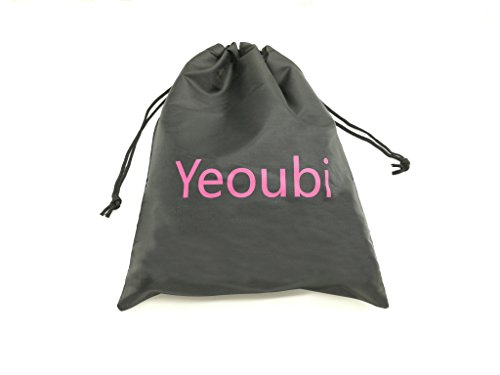 Yeoubi Open Breathable Pu Leather Paly Ball and Blindfold Eye Mask For Men Woman