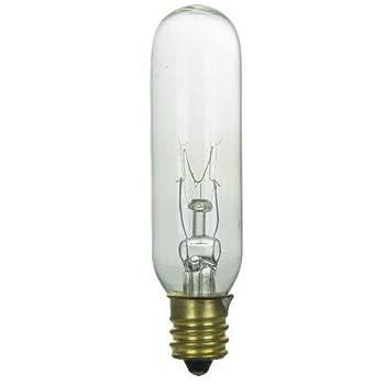 SUNLITE 15w T6 145v Candelabra Base Clear Bulb 25pcs