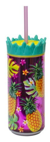 Cool Gear 16oz Double Wall Insulated Drink Can with Wide Mouth