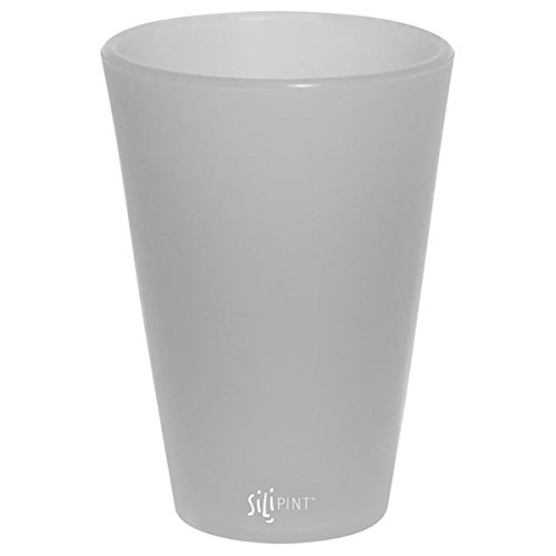 Silipint Silicone Pint Glasses, Patented, BPA-Free, Shatter-proof Silicone Cup Drinkware