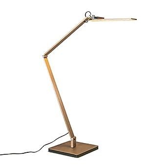 Tischleuchte Designer Leuchte gold messing LED Wohnzimmer
