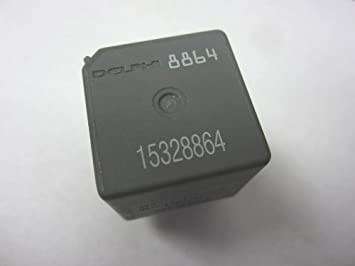 31hquYA3MVL._SX355_ amazon com genuine gm delphi 4 pin fuse box relay 15328864 delphi fuse box at bayanpartner.co