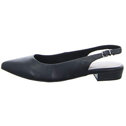 Para Talón De Mujer 1 Zapatos 22 1 Tamaris Negro Abierto 29402 X8WZYwn