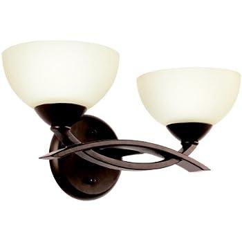 Kichler Lighting 45163oz Bellamy 3 Light Halogen Bath Light Olde Bronze Vanity Lighting