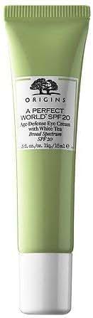 Origins A Perfect World SPF 20 Age-Defense Eye Cream with White Tea .5 fl. oz / 15ml - Unboxed