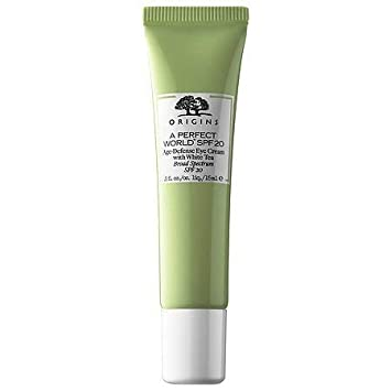 Origins A Perfect World SPF 20 Age-Defense Eye Cream with White Tea .5 fl. oz 15ml – Unboxed