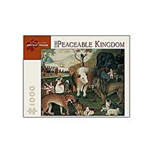 Edward Hicks Peaceable Kingdom 1000pc Jigsaw Puzzle by Pomegranate