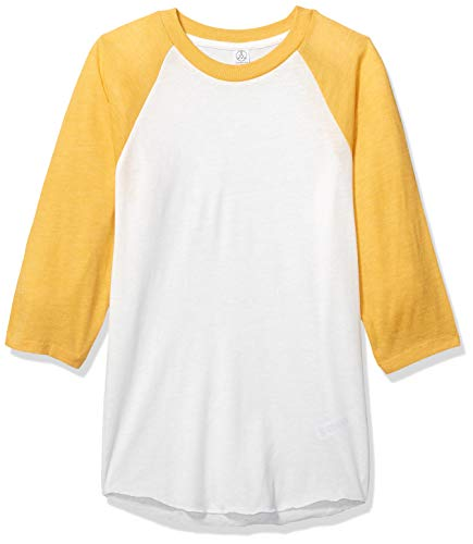 - Alternative Men's Baseball Tee, Eco True Gold, Large