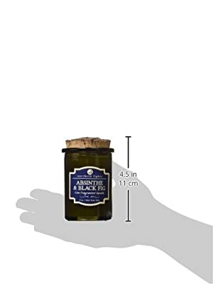 Northern Lights Candles Spirit Jar Candle, 5 oz, Absinthe & Black Fig
