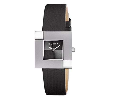 Reloj Elixa Finesse Mujer Solo Tempo Lady titanio Piel raso ...