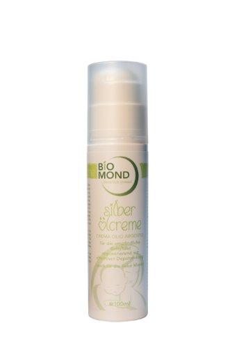 BIO Baby Slber Öl Creme BIOMOND / 100 ml / ohne Zusatzstoffe / 100% natürlich / Naturkosmetik / von Hebammen empfohlen