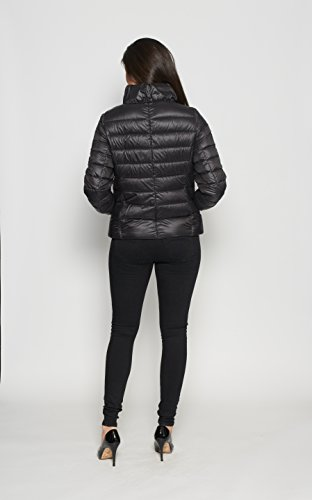 Jacket David Womens Down Puffa Short Winter Barry Nero SSq5rwY