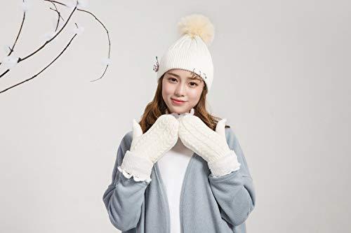 Acvip Taille Weiß Gant Unique Femme rUr4F