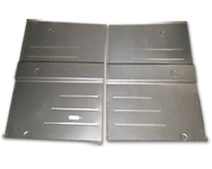 1948-51 Jeep Jeepster Rear Floor Pans (Pair) for sale  Delivered anywhere in USA
