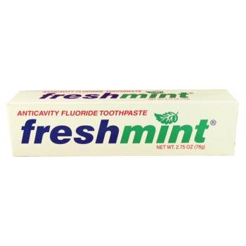 2.75 oz Individual Box Freshmint Toothpaste Case Pack 144