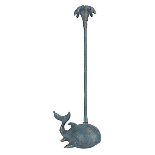 Design Toscano Whale of a Tale Sculptural Iron Paper Towel Holder ()