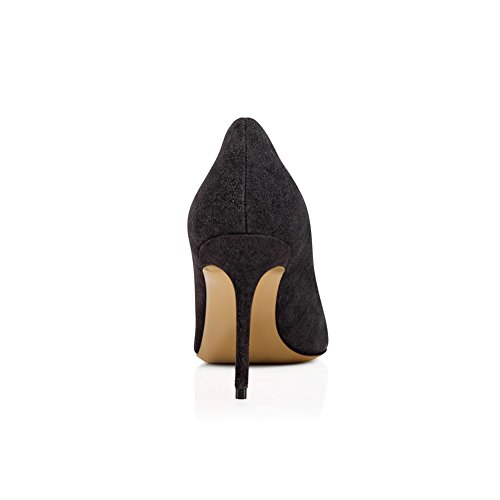 Darkgrey Alto KJJDE De Baile Tacón Puntiagudo Sexy TLJ Mujer Tacón De Zapatos 41 Mejorar 1807 Dedo Alta Sandalias Fiesta SqnTS1r
