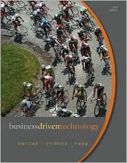 Business Driven Technology 3th (third) edition ebook