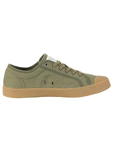 Palladium Damen Pallaphoenix OG Canvas Sneaker Grün