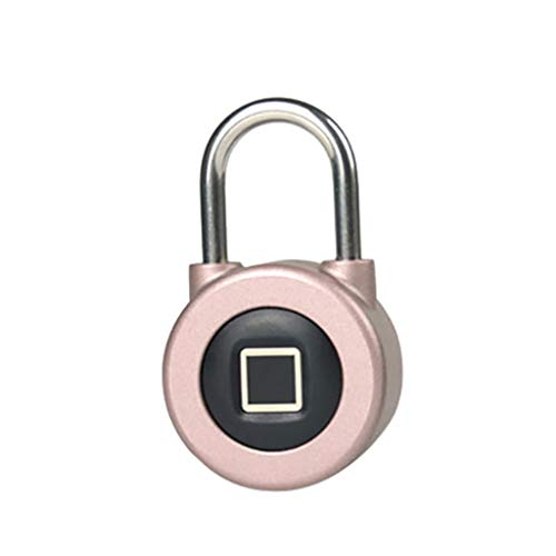 - Redvive Top Fingerprint Padlock Bluetooth Suitable for House Door/Suitcase/Backpack/Gym/Bike