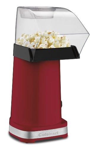 EasyPop Hot Air Popcorn Maker, Red