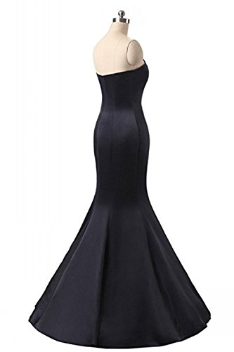 Gowns Satin Womens Prom Strapless A2 Dresses Mermaid Bridal Annies Evening Long 0Xwqfnp