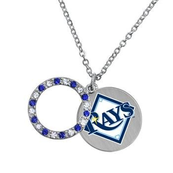 (Game Time 101641 MLB Tampa Bay Rays Disc Necklace )