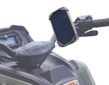Samsung Galaxy S9 iPhone XS Max Moto TrailKASE -Universal phone holder for your Motorcycle 8 Plus Fits iPhone 7,8,9,X,XS,XR iPhone 7 or Bicycle ATV S7 S8