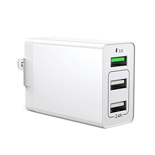 usb充電器 qc3.0 搭載 ACアダプター USB急速充電器 軽量 コンパクト スマホ急速充電