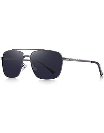 df5df4f5e OLIEYE Rectangular Polarized Sunglasses for Men 100% UV protection