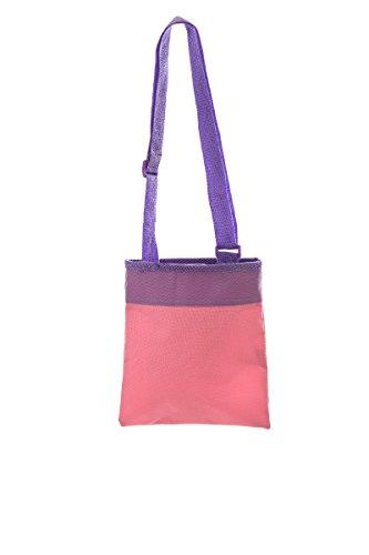 Disney Violetta (4931) Kinder Cross Body Schultertasche mit verstellbarem Trageriemen, violett, Größe: 20 x 17.5 cm