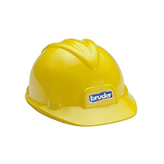 Bruder Toys Construction Worker Hard Hat Yellow Helmet