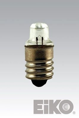 Eiko 222 2.25V .25A TL-3 Miniature Screw Base Halogen Bulbs - 1/4 Miniature Screw