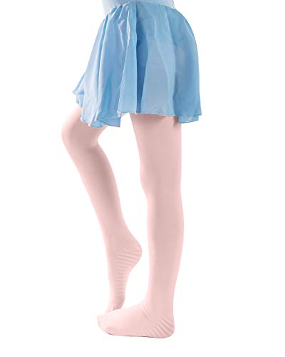 Little Girls Ballet Dance Tights Footed Legging Tights Pink 3-5 Years