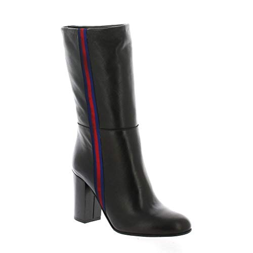 Noir Pao Pao Bottes Bottes Cuir Iw5d4ndq