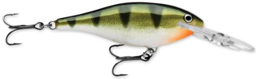 Rapala Shad Rap 6 Fishing Lure, Yellow Perch, 2-1/2-Inch (Best Yellow Perch Lures)