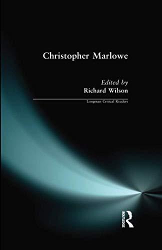 Christopher Marlowe (Longman Critical Readers)