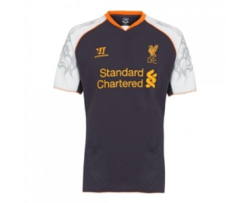 (Warrior Liverpool 12/13 Third Soccer Jersey)