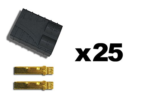 Traxxas 3081 TRX Connector Female 25 Piece Bulk-Pack