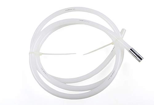 K & V Schutzschlauch für Temperatursensoren (2,5 Meter lang, Ø 13 mm, transparent) Schutzrohr für die einfache Montage und Demontage des Sensors K&V Elektro