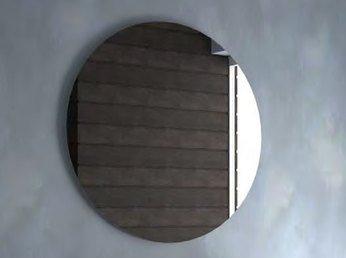 Miroir De Salle De Bain Rond Contemporain Gaia Diametre 90 Cm