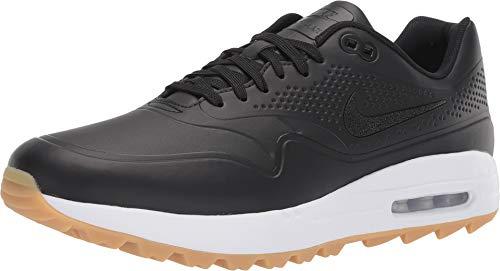 Nike Golf Men's Air Max 1G Black/Black/Gum Light Brown 13 D US