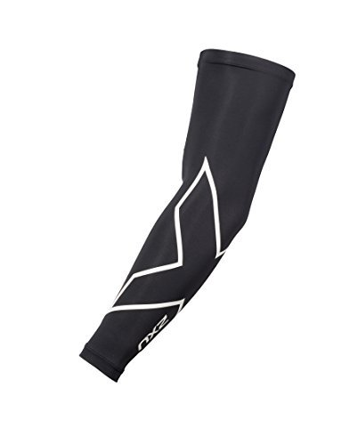 Noir blanc 2xu Unisexe Ice Arm M Guards Compression X Taille YHnRnpxPq
