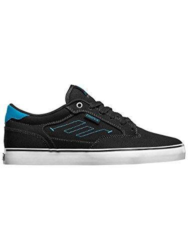 Emerica THE JINX 2 6101000095 - Zapatillas de cuero para hombre nero - Nero/Blu