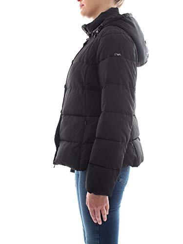 2nagz Con Piumino Emporio Autunno Donna Noir inverno Cappuccio Armani Nero 6z2b75 nR4txq0wtS