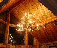 deer horn ceiling fans - 9