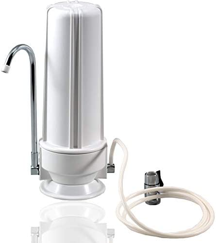 NU Aqua Platinum Series Premium Countertop Water Filtration System Easy to Use Portable Faucet Mounted Filter Transforms Tap Water Into Drinking Water