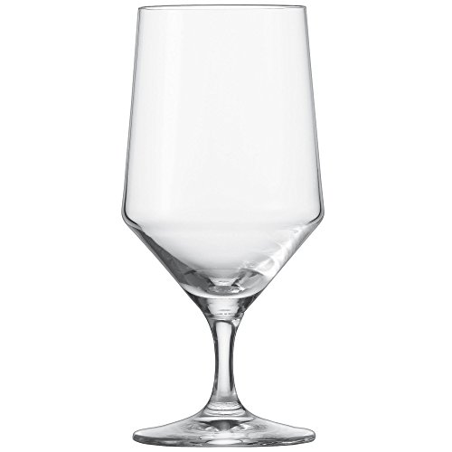 (Schott Zwiesel Water Glass 32, 6-Set, Pure, Glass, Form 8545, 451 ml, 112842)